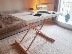 London Table - Standing Table Workstation